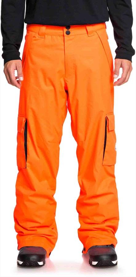 DC Banshee Ski/Snowboard Pants, M Shocking Orange