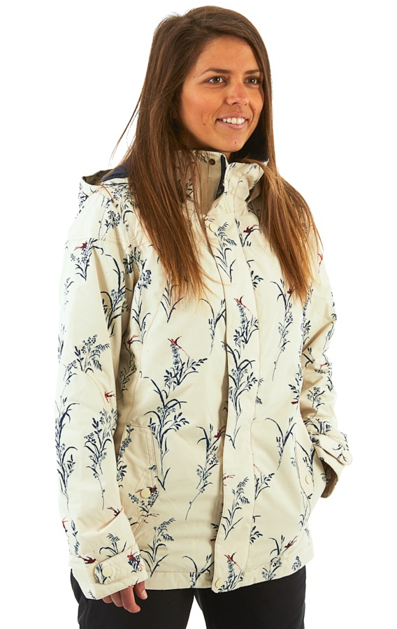 Burton Jet Set Women's Snowboard/Ski Jacket, XS Canvas Birds