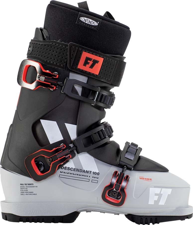 Full Tilt Descendant 100 Grip Walk Ski Boots, 27/27.5 Grey/Black 2021
