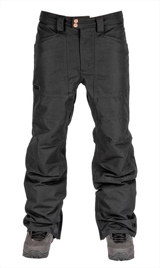L1 Premium Goods Adult Unisex Americana Ski/Snowboard Pants, L Black