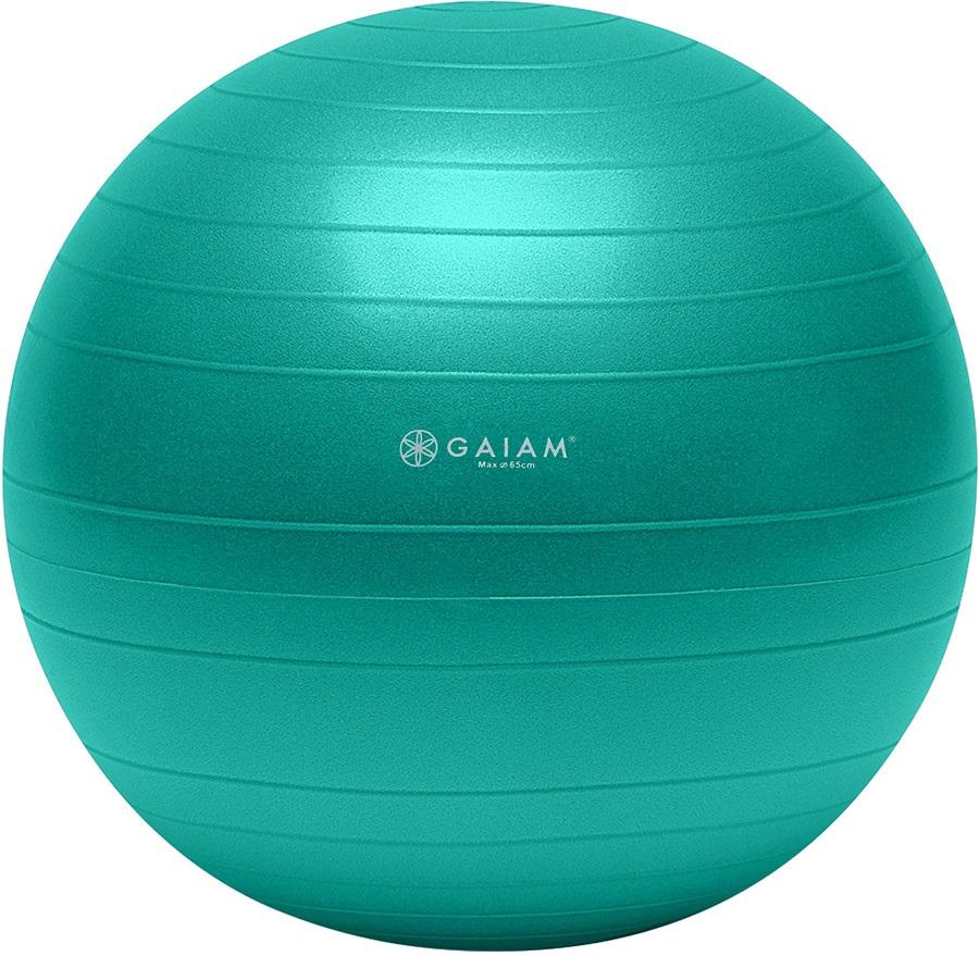 Gaiam Total Body Balance Ball Kit, M Green