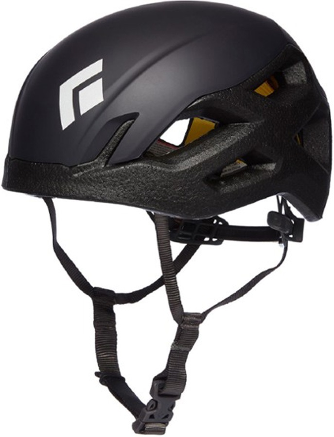 Black Diamond Vision MIPS Rock Climbing Helmet, M/L Black