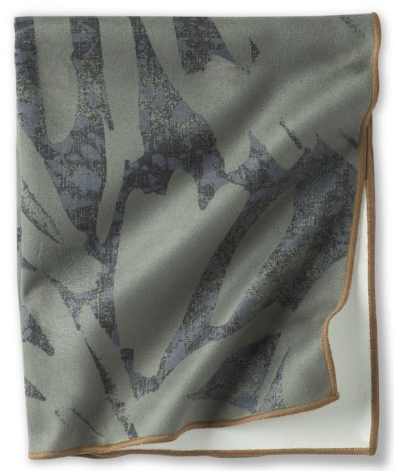 Prana Maha Yoga/Pilates Hand Towel, One Size Rye Green La Palma