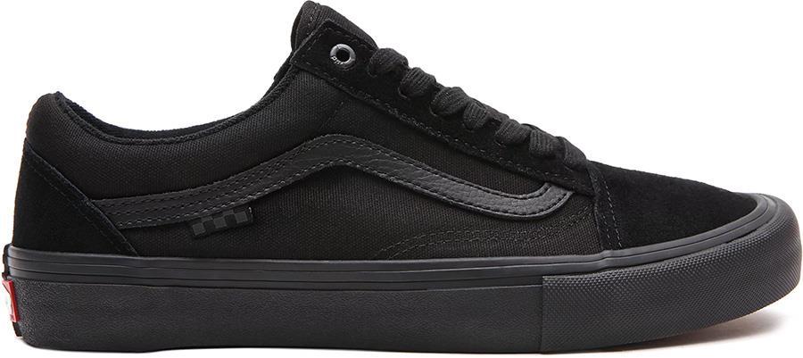 Vans Skate Old Skool Trainers/Shoes, UK 12 Black/Black