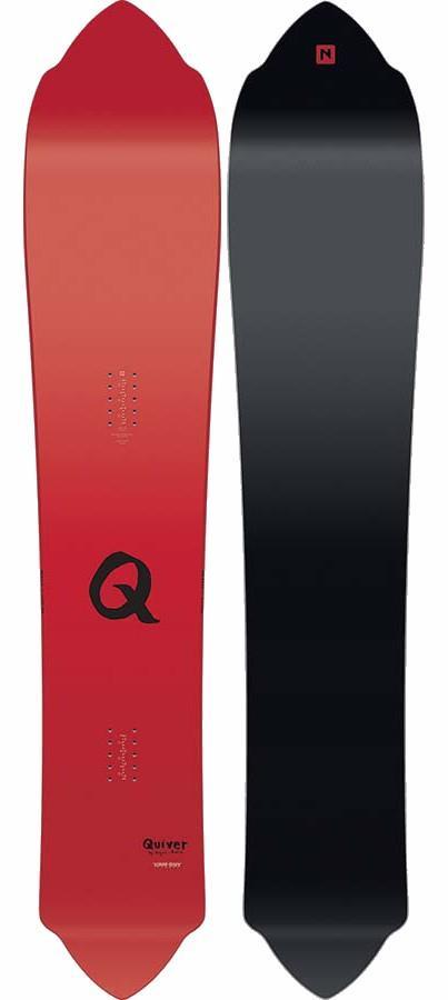 Nitro Quiver Nuat Cam-Out Camber Snowboard 163cm 2018