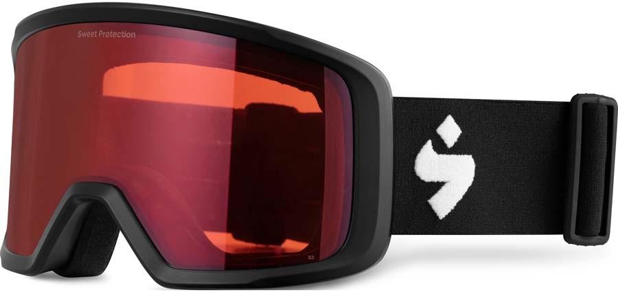 Sweet Protection Firewall Ski/Snowboard Goggles, O/S Matte Black