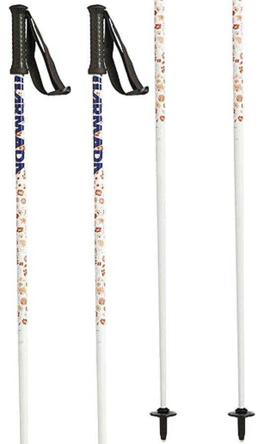 Armada Triad Women's Pair Of Ski Poles 105cm White/Orange