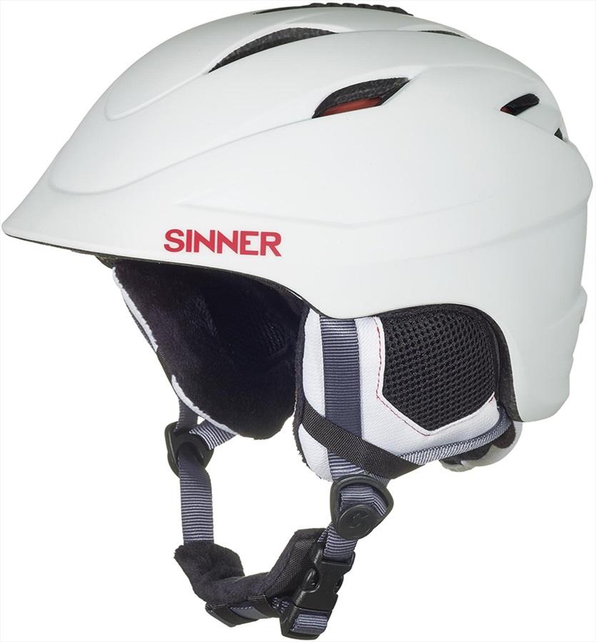 Sinner Gallix II Ski/Snowboard Helmet XS Matte White
