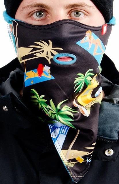 Airhole Standard Snowboard/Ski Face Mask L/XL Beach