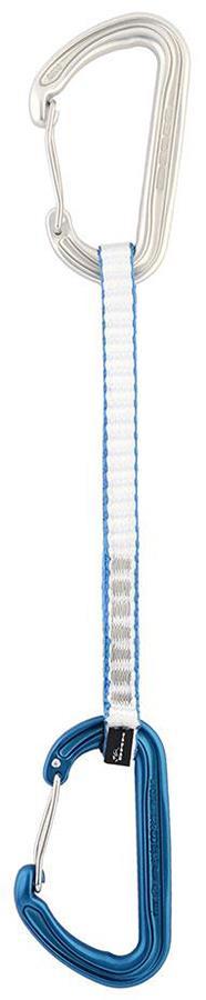 DMM Spectre Rock Climbing Quickdraw, 18cm Silver/Blue