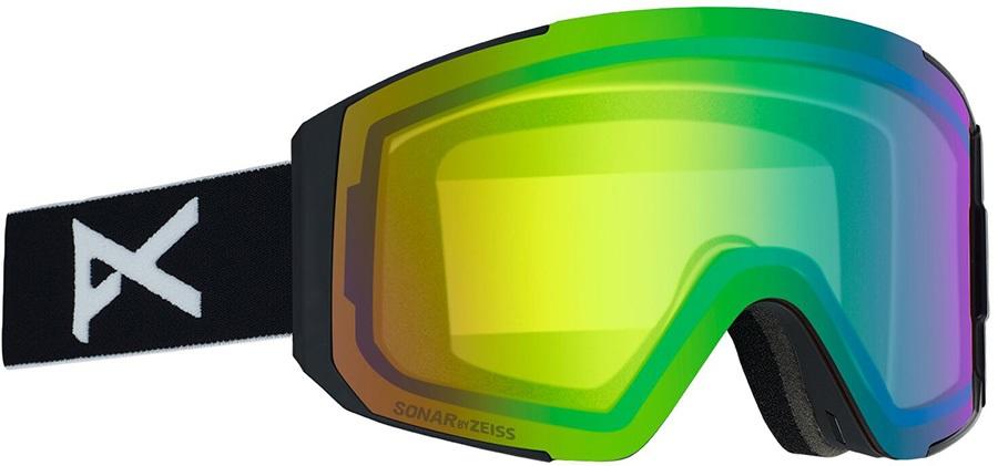Anon Sync Sonar Green Women's Ski/Snowboard Goggles, S/M Black