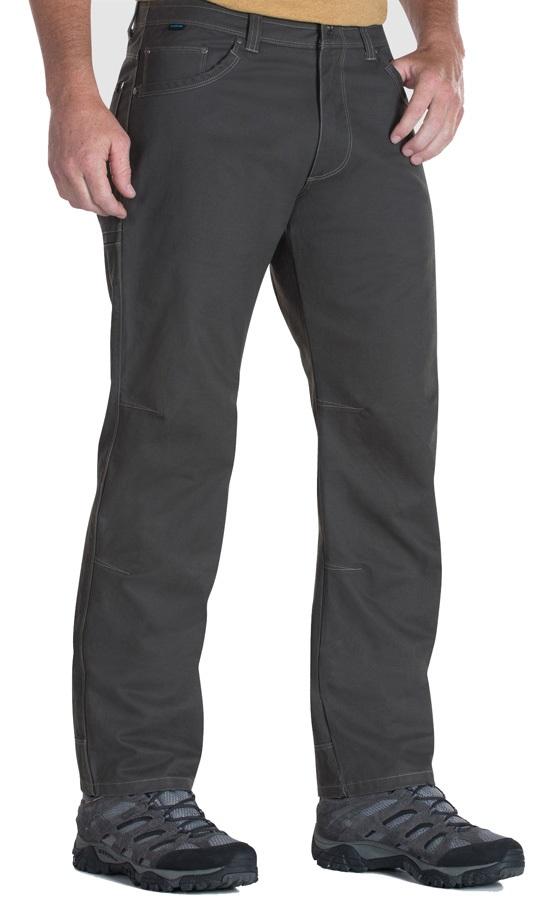 Kuhl Rydr Pant Regular 4 Season Trousers, 34/32 Forged Iron