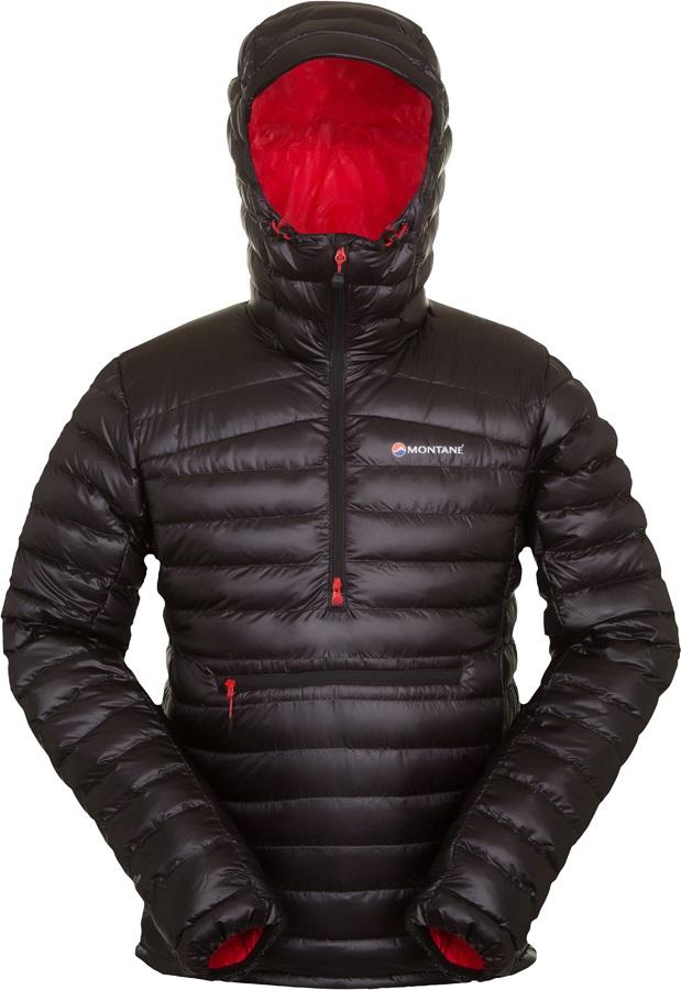 Orange Sports Outdoors Half Zip Montane Mens Featherlite Down Pro Pull-On