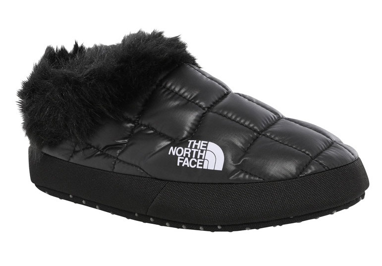 The North Face Thermoball Tent Mule Faux Fur Women S Slippers M Black
