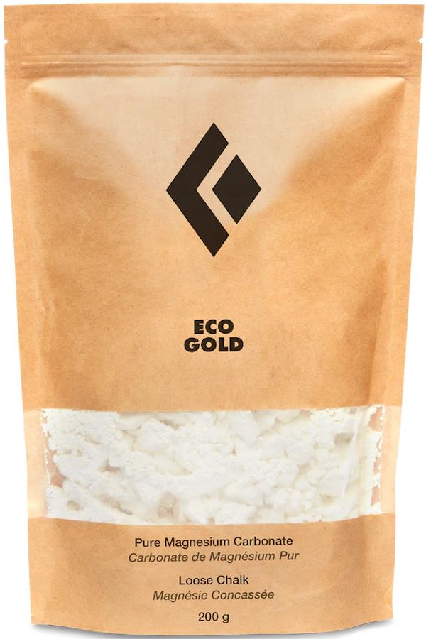 Black Diamond Eco Gold Rock Climbing Chalk, 200g