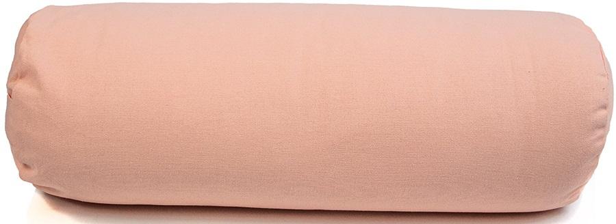 Myga Support Yoga/Pilates Bolster Pillow, Dusty Pink