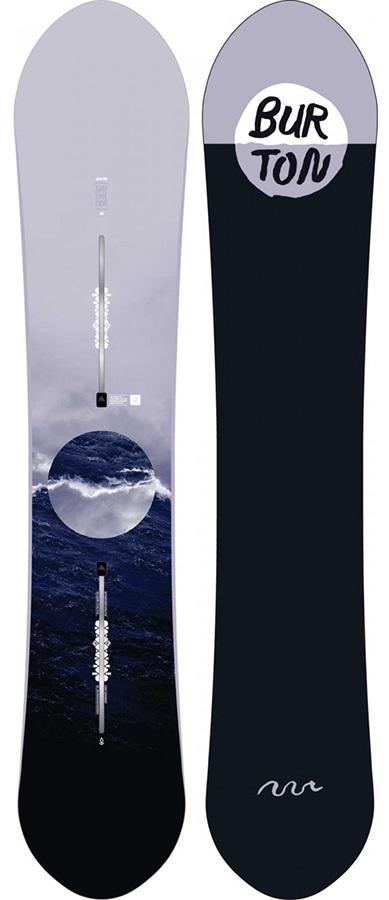 Burton Day Trader Family Tree Women's Zero Camber Snowboard, 154cm 2020