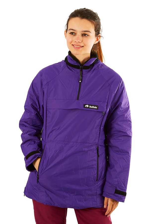 Buffalo Ladies Mountain Shirt Technical All Weather Jacket, L Purple