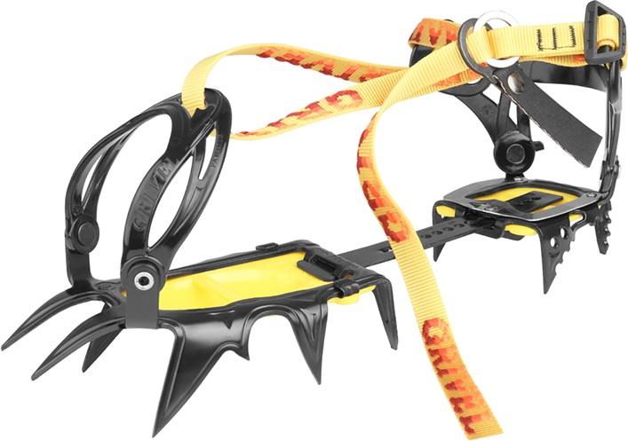 Grivel G12 New Classic Mountaineering Crampon, UK 3.5-13.5 Yellow