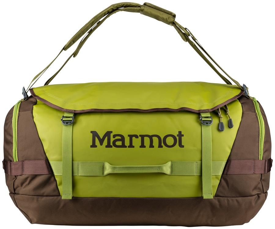 Marmot Long Hauler Duffel Travel Bag - 75L, Cilantro / Raven