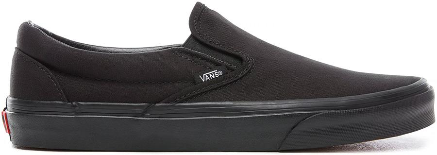 Vans Classic Slip-On Skate Shoes, UK 12 Black/Black