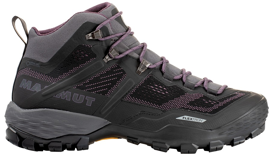 Mammut Womens Ducan Mid Gore-Tex Women's Hiking Boots, Uk 4 Phantom/Light Galaxy
