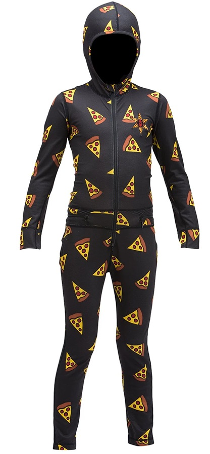 Airblaster Youth Ninja Thermal One Piece Suit, Age 6-8 Pizza