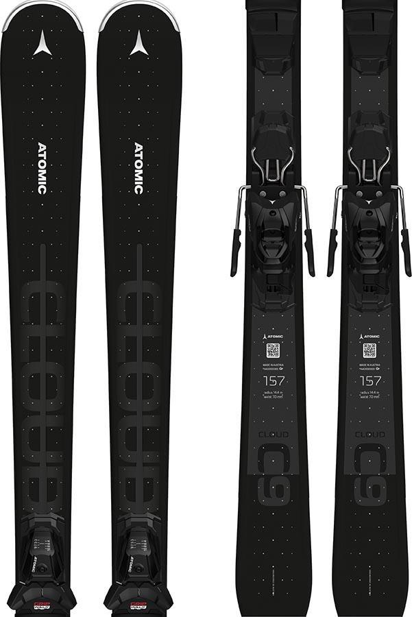 Atomic Cloud 9 M10 GW Women's Skis, 143cm Black 2022