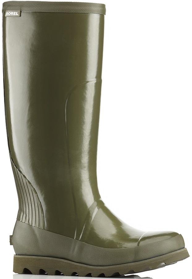 Sorel Joan Rain Tall Gloss Women's Wellington Boots, UK 4 Nori/Zest