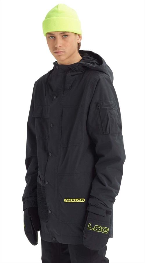 Analog Solitary Snowboard/Ski Jacket, M True Black