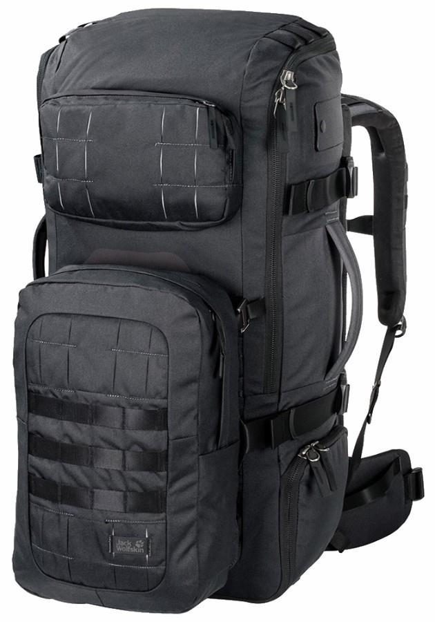 Jack Wolfskin TRT 75 Travel Backpack, 75L Phantom