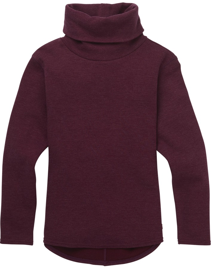 Burton Lil Ellmore Girl's Fleece Pullover, M Port Royal Heather