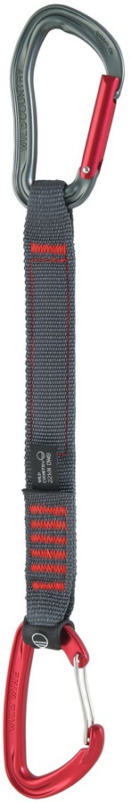 Wild Country Electron Sport Climbing Quickdraw, 25cm, Red/Grey
