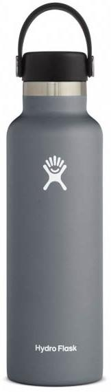 Hydro Flask 21oz Standard Mouth With Flex Cap Water Bottle, Stone