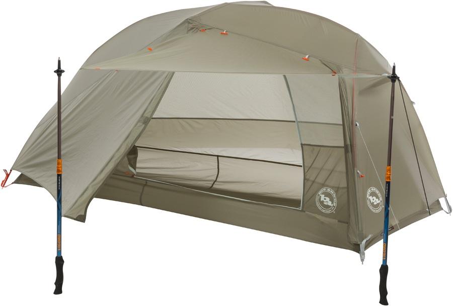 Big Agnes Copper Spur HV UL1 Ultralight Backpacking Tent Olive
