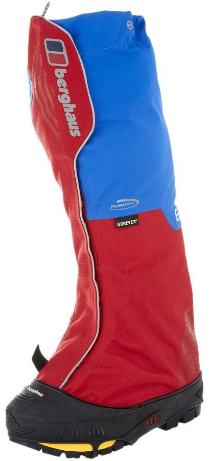 Berghaus Yeti Extrem Pro III Alpine Boot Gaiter, XS Blue/Red