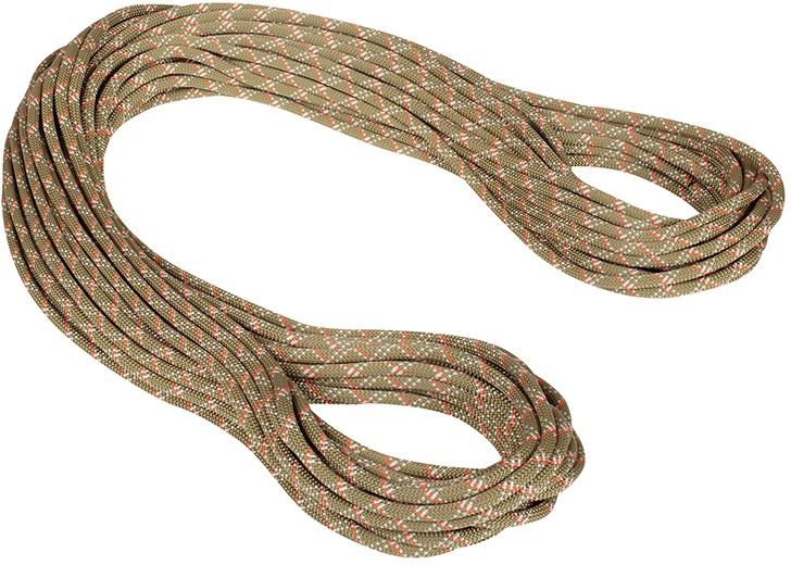 Mammut 9.5mm Gym Classic Rock Climbing Rope, 50m X 9.5mm Boa-White