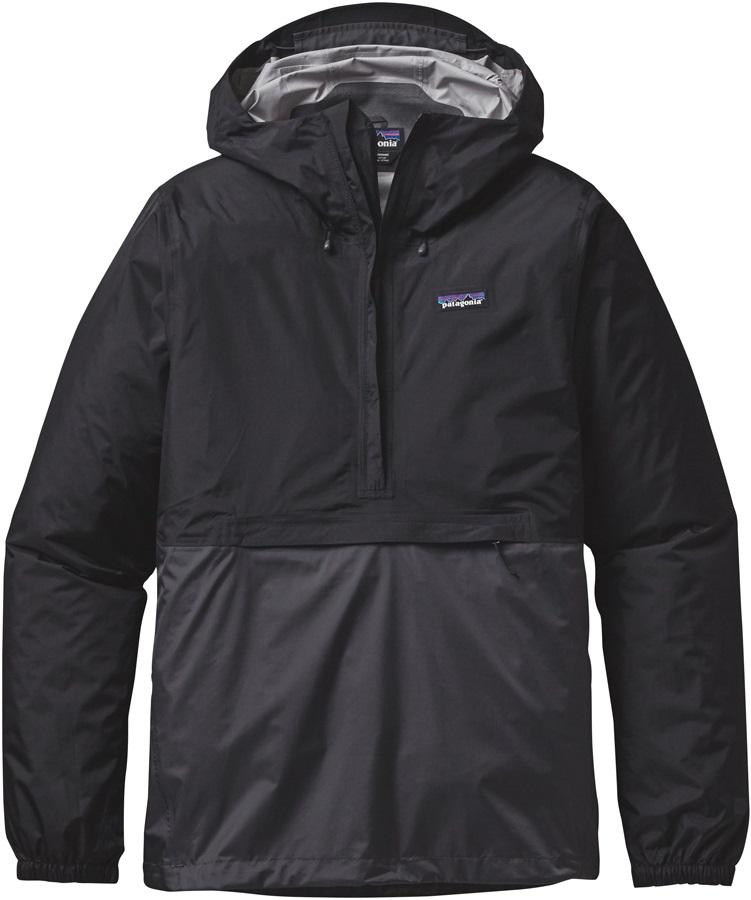 Patagonia Torrentshell Pullover Waterproof Jacket L Black