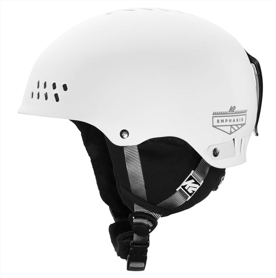 K2 Womens Emphasis Women's Ski/Snowboard Helmet, S White
