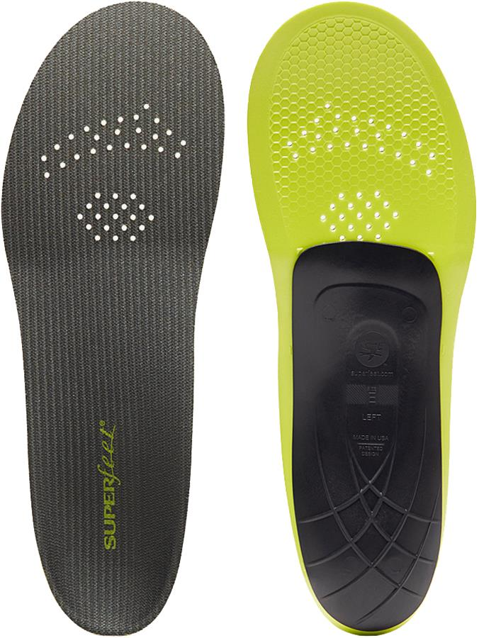 Superfeet Carbon High Performance Running Shoe Insoles, UK 4-5.5