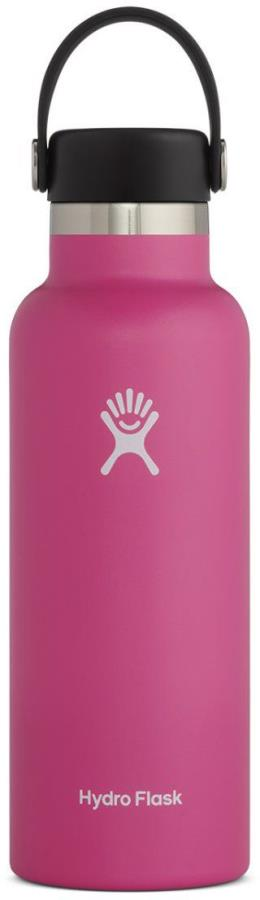 Hydro Flask 18oz Standard Mouth With Flex Cap Water Bottle Carnation
