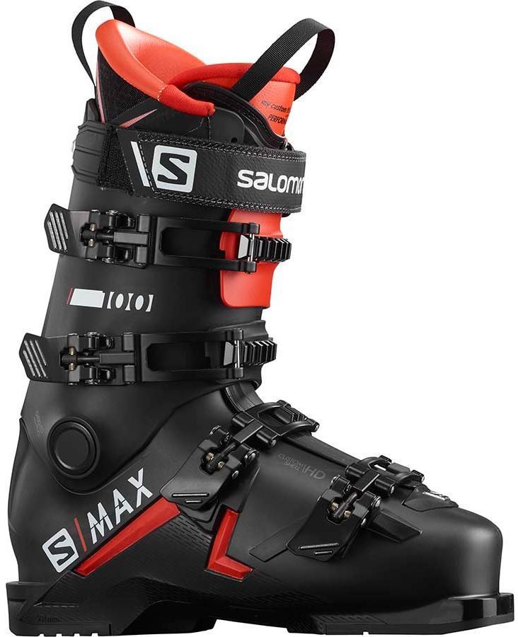 Salomon S/Max 100 Ski Boots, 27/27.5 Red/White/Black 2022