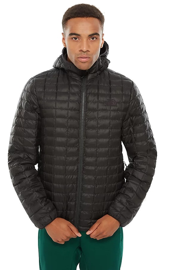 The North Face Thermoball Eco Insulated Hooded Hiking Jacket, XL Black
