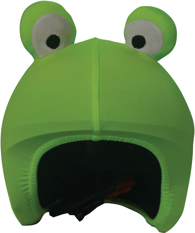 Coolcasc Animals Ski/Snowboard Helmet Cover, One Size, Frog