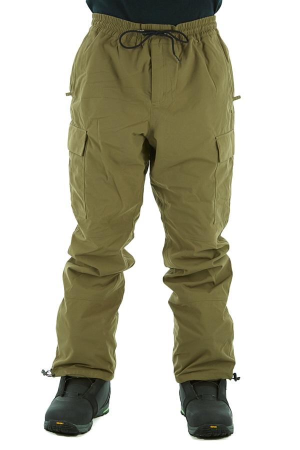 thirtytwo Fatigue Snowboard/Ski Pants, M Olive