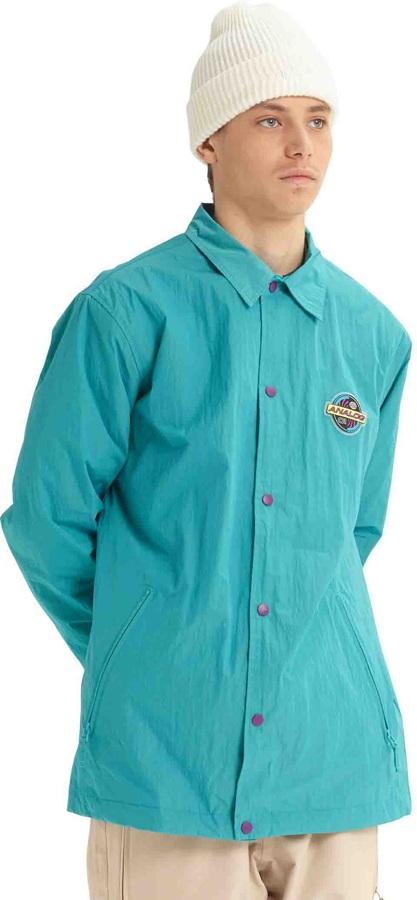 Analog Sparkwave Coaches Ski/Snowboard Jacket, M Green-Blue Slate