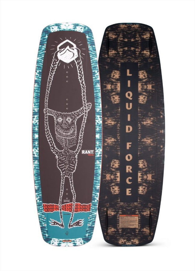 Liquid Force Rant Grind Kids Cable Wakeboard, 125 Grey Blue 2021