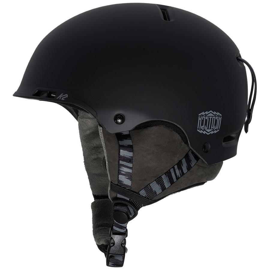 K2 Stash Snow/Bike Helmet, M Black