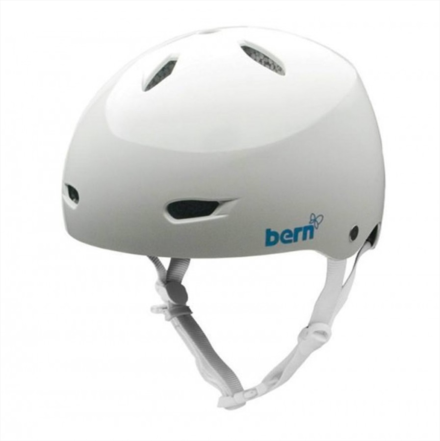 Bern Brighton H2O Ladies Watersports Helmet, L Satin White