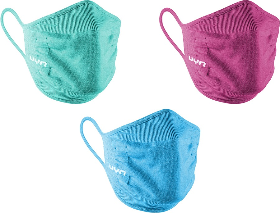 UYN Child Unisex Community Kid's 3-Pack Protective Reusable Face Mask, Xs Multi